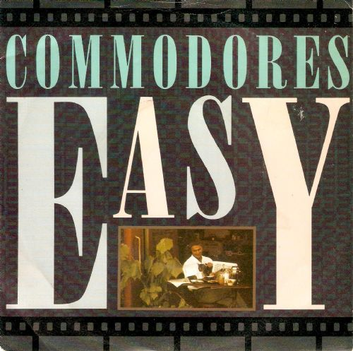 COMMODORES Easy Vinyl Record 7 Inch Motown 1988